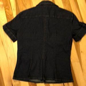 Burberry Tops - Burberry denim shirt